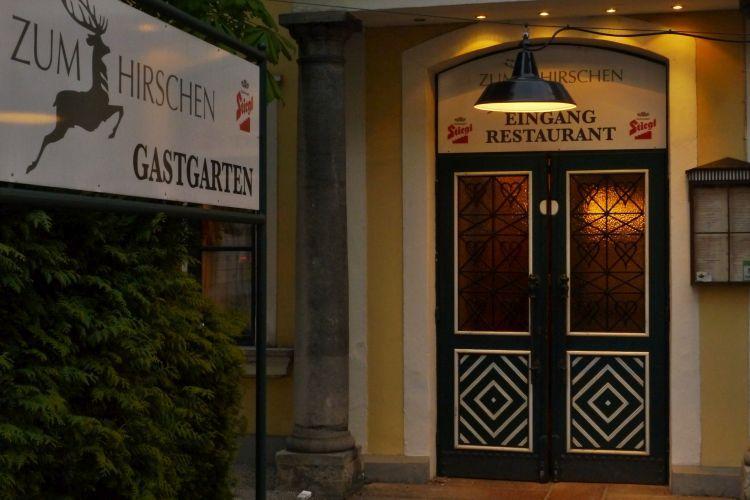 """Gasthof Restaurant """"Zum Hirschen"""", nur 2 Minuten zu Fuss erreichbar"""