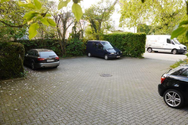 Gratis Parkplatz für unsere Gäste beim Hotel Hohenstauffen in Salzburg